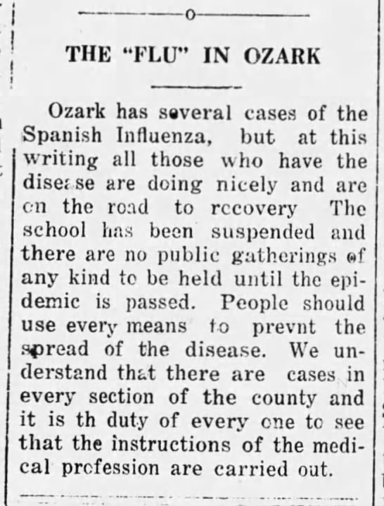 19181016 Southern Star Ozark Spanish Flu p1col5.jpg